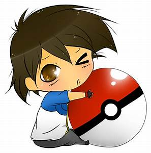 Chibi Pokemon Ash And Paul Images | Pokemon Images