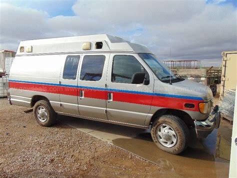 1995 Ford Econoline E350 Superduty Ambulance