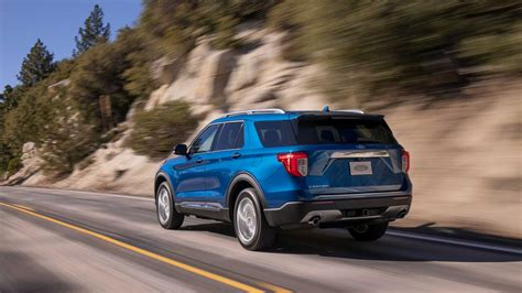 2020 Ford Explorer Limited by New 2020 Ford Explorer Debuts As Rwd 365hp Large Suv