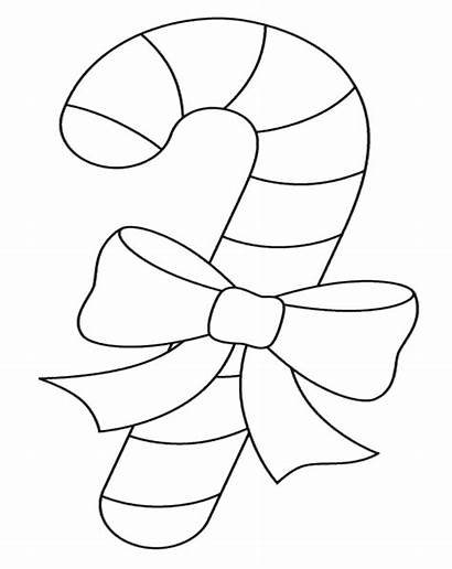 Coloring Cane Candy Pages Printable Christmas Canes
