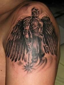 Saint Michael | spartan warrior tattoos | Pinterest ...