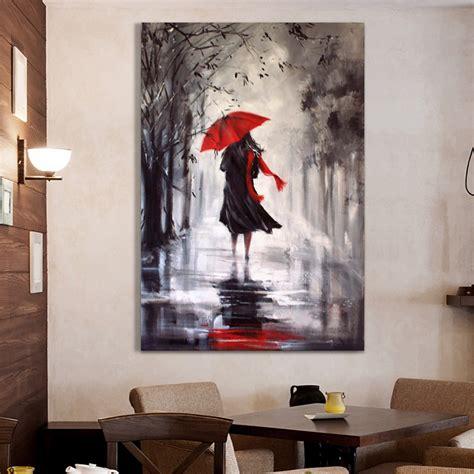 gros rainning jour peinture 224 l huile abstraite peinture 224 l huile peinte sur toile home
