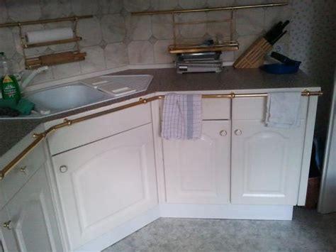 Einbauküche Landhausstil Eckvariante Weiss Für