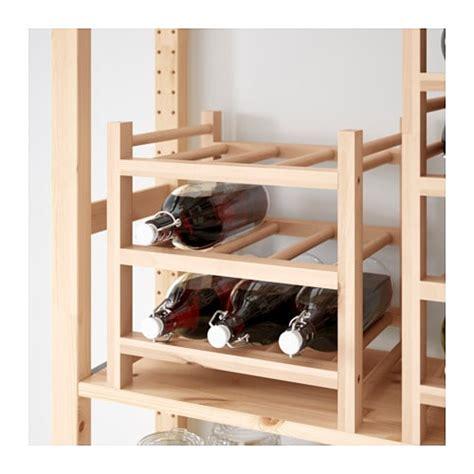 wine rack ikea hutten 9 bottle wine rack solid wood ikea