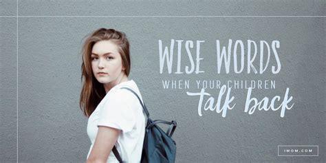 wise words   children talk  imom