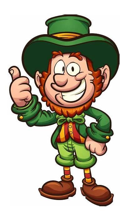 Leprechaun Cartoon Clipart Happy Vector Clip Simple