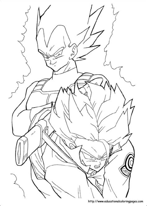 dragonball  coloring pages   kids