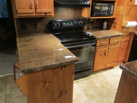 Faux Granite Countertop Prices by Kitchen Countertop Overlay Ideas Fromy Design