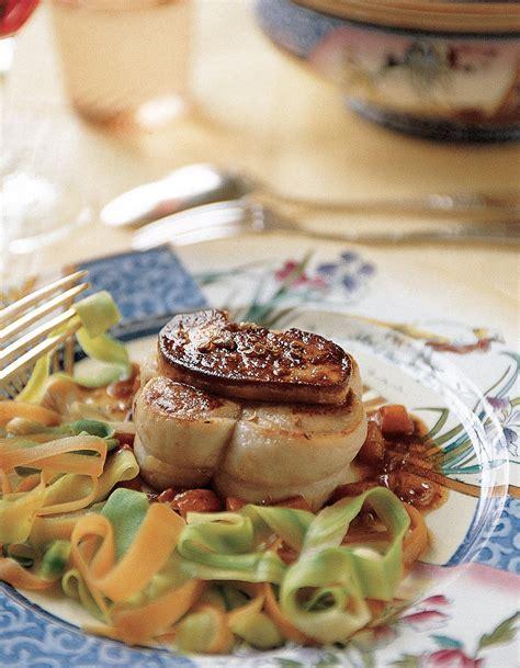 cuisiner foie gras frais grenadins de veau au foie gras frais pour 6 personnes recettes à table