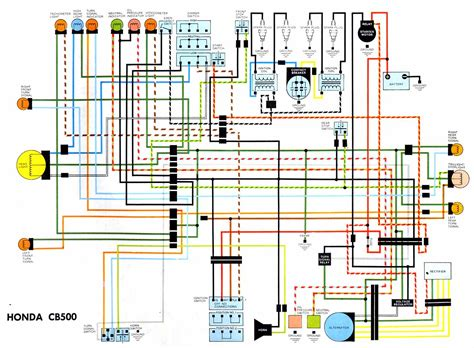 Honda Electrical Wiring Diagram Circuit