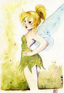 Tinkerbell, Peter Pan, Disney Princess, Disney Fan Art ...