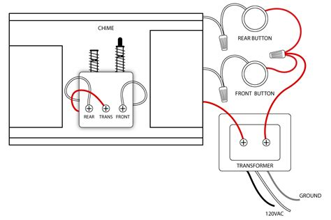 doorbell wiring diagrams diagram doors and house