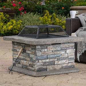 Noble, House, Crestline, 29, 00, In, X, 17, 10, In, Square, Natural, Stone, Fire, Pit-2691
