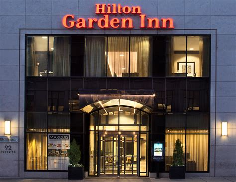 garden inn toronto downtown hotel celebrates