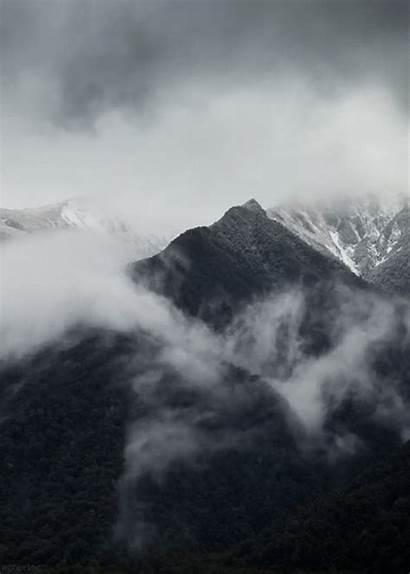 Mountain Landscape Gifs Animated National Park Mount