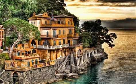 Portofino Village Genoa Wallpaper Travel Hd Wallpapers
