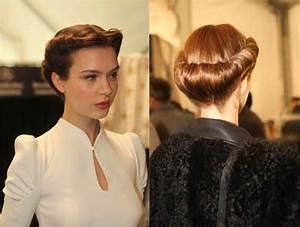 40s updo | Vintage hairstyles, 40s hairstyles, Hairdo