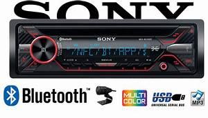 Sony Autoradio Bluetooth : b ware sony mex n5200bt bluetooth cd mp3 usb autoradio ~ Jslefanu.com Haus und Dekorationen