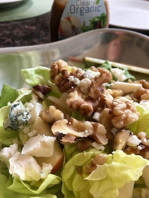 Apple Walnut Gorgonzola Salad - Clearly Organic