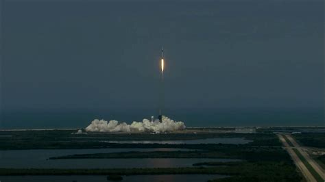 spacex demo  crew dragon reaches orbit