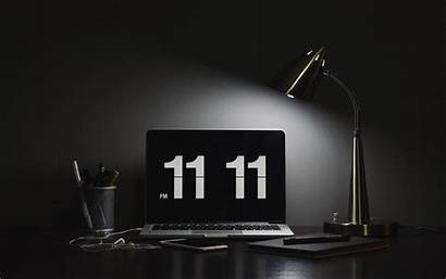 Laptop Desktop Numbers Dark 4k Ultra Widescreen