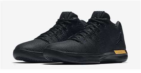 The Air Jordan Xxxi Low Black And Metallic Gold Drops Friday
