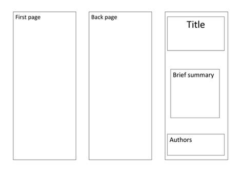 Leaflet Template by Doubling And Halving Machines By Isotope824 Teaching