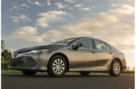 2014 Toyota Camry Gas Mileage by 24 Cars With The Best Gas Mileage In 2019 U S News