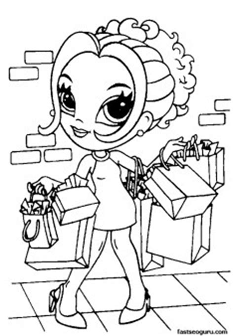 printable  girls lisa frank coloring pages printable coloring pages  kids