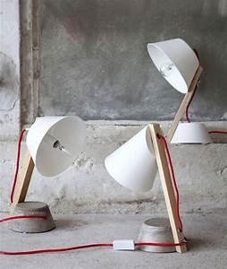 Lampe Bureau Bois : 20 id es d co de lampe de bureau ~ Teatrodelosmanantiales.com Idées de Décoration