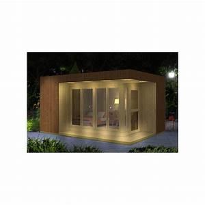 bureau de jardin de 1707m2 en bois massif 19mm tim plancher With bureau de jardin en bois