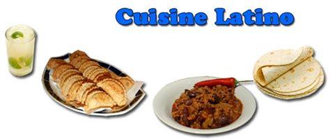 cuisine latine cuisine recettes de cuisine américaines