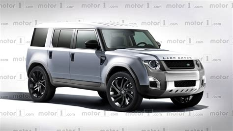 land rover defender 2018 new land rover defender exclusively rendered