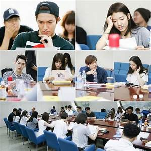 Lee Min Ho Park Shin Hye And All Cast Members At QuotThe