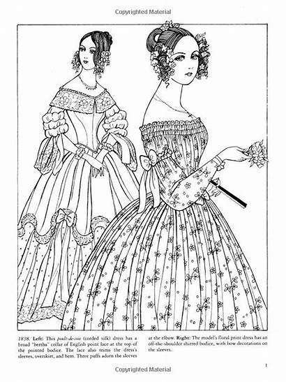 Coloring Pages Adult Books Fashions Coloriage Dover