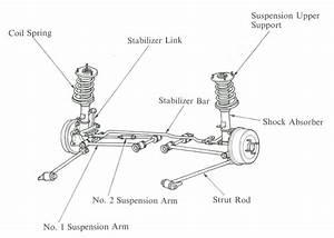 1999 Toyota Corolla Rear Suspension Diagram