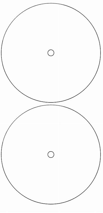 Record Label Vinyl Template Labels Blank Bowl