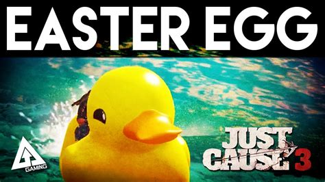 Duck Boat Easter Egg by Just Cause 3 Easter Egg Quot Rubber Duck Quot Boat Gameplay