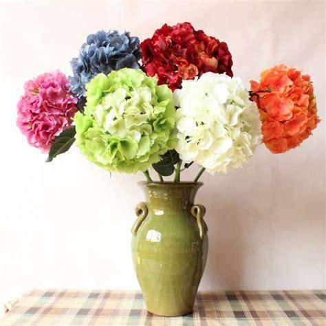 vaso con fiori centrotavola fai da te con i fiori finti foto 31 40