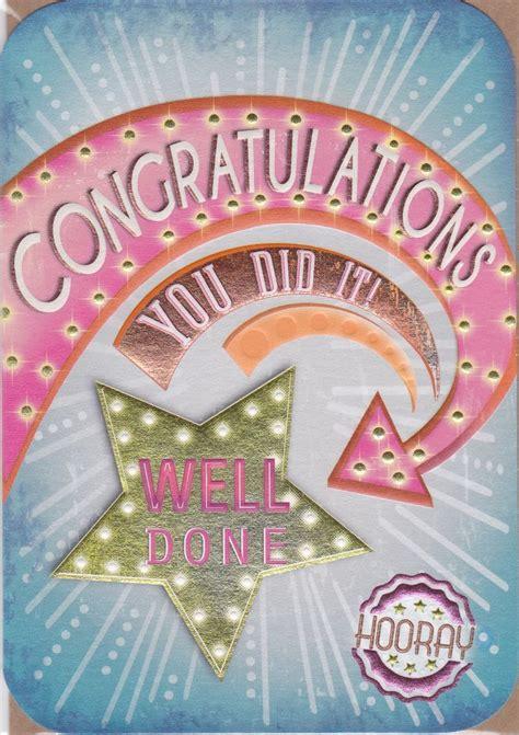 congratulations card congratulations card