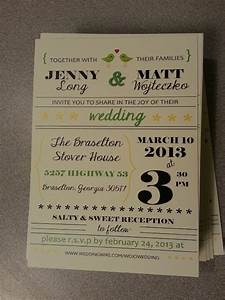 wedding invites i designed in microsoft publisher then had With wedding invitations templates for publisher