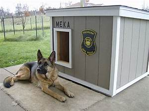 dog house plans police dog house plans With german shepherd dog house plans