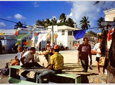 Bahamas today street life in Bimini island