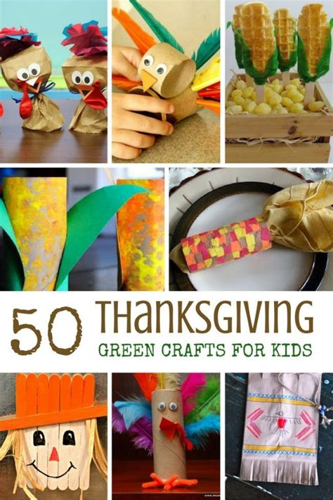 50 green thanksgiving crafts for kids for the love of