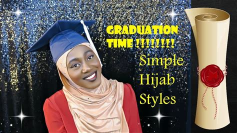 graduation hijab style  styles modern hijabista youtube
