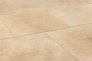 Kesir travertine tiles honed and filled denizli beige for Travertine tile
