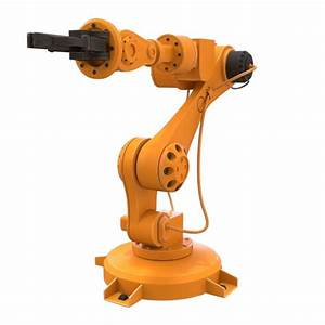 industrial robot 3D model power