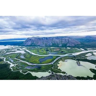 Rapa valley in Sarek National park Sweden. [1500 x 1000