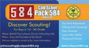 Pack business cards party gift ideas pinterest for Cub scout business cards