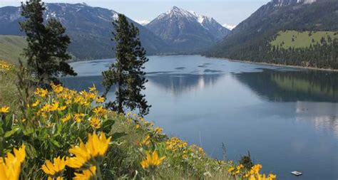 amazing lakes  usa  summer vacation
